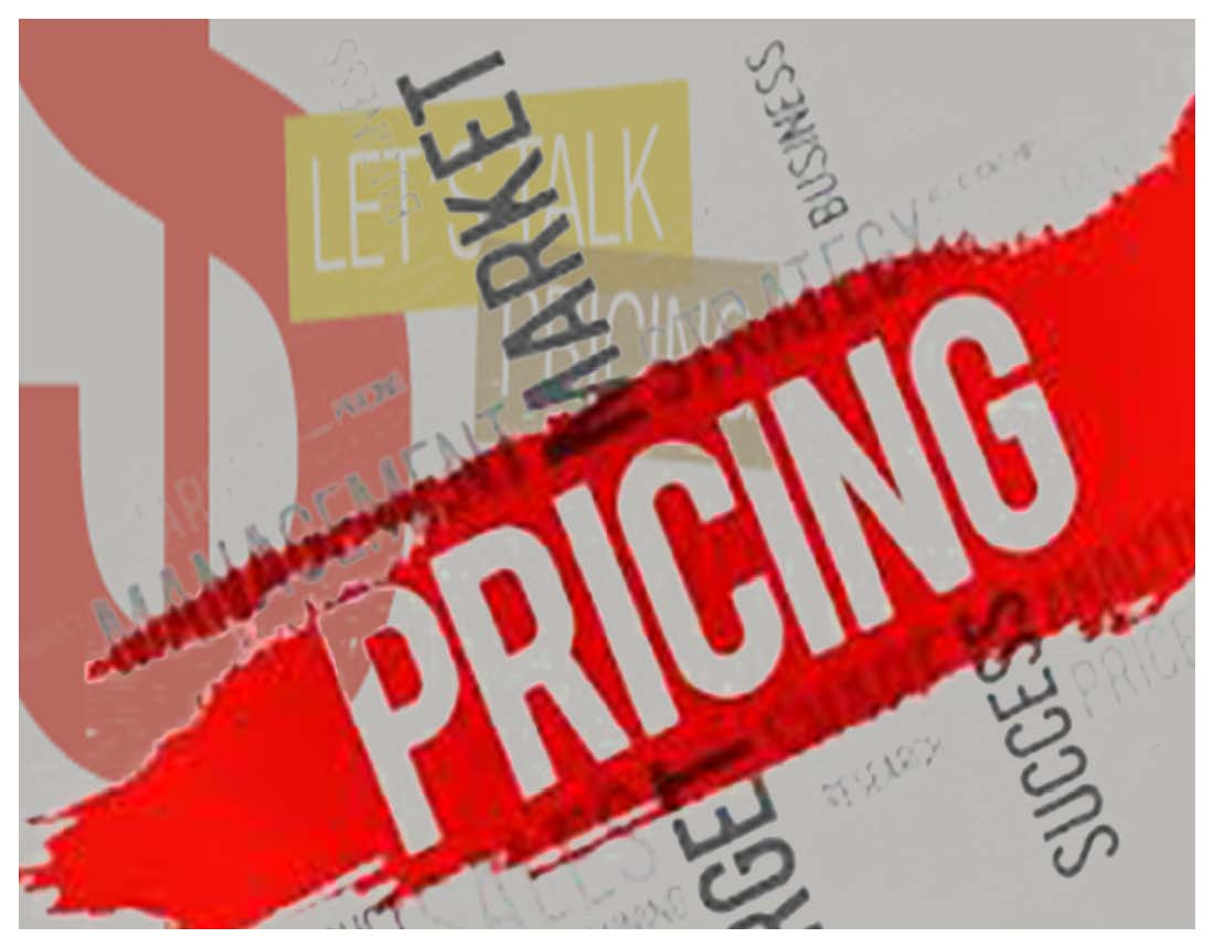 Pricing website artwork